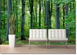 Woodland Forest Peel and Stick Wall Mural