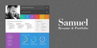 Samuel - Resume And Portfolio WordPress Theme | Codester How To Make A Personal Resume Website From Wordpress Theme Responsive Cv Template Site Builder Youtube Sility Vcard By Wpmines Themeforest 33 Best Themes 2019 Colorlib For Freelancer 10 Wordpress Templates Free Premium Layers Rumes Mark Portfolio Codester 20 Cv Vcard Gridus Awesome Collection Of Wordpress Resume Theme Awesome Themes