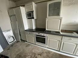 einbauküche mit allen elektrogeräten transport möglich