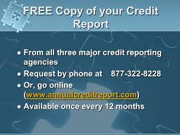 trw credit bureau your credit report understanding the puzzle ppt