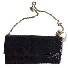 christian dior wallet as a shoulder bag buy second hand