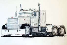 100 Semi Truck Tattoos Peterbilt Clipart