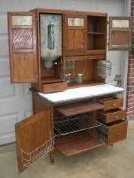 oak hoosier style mcdougall 48 wide cabinet w flour bin pie