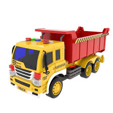 100 Red Dump Truck Amazoncom FUN LITTLE TOYS Toy Friction Powered