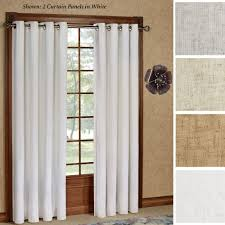 Sidelight Window Treatments Bed Bath And Beyond by Patio Door Curtain Panels Touch Of Class