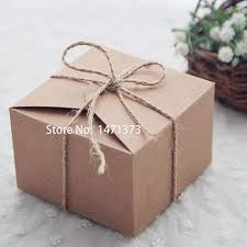 2018 Rustic Wedding Favors Candy Boxes Packaging Snak Bags Small Kraft Gift BoxKraft Paper Cake Box Birthday Party Supplies From Photography