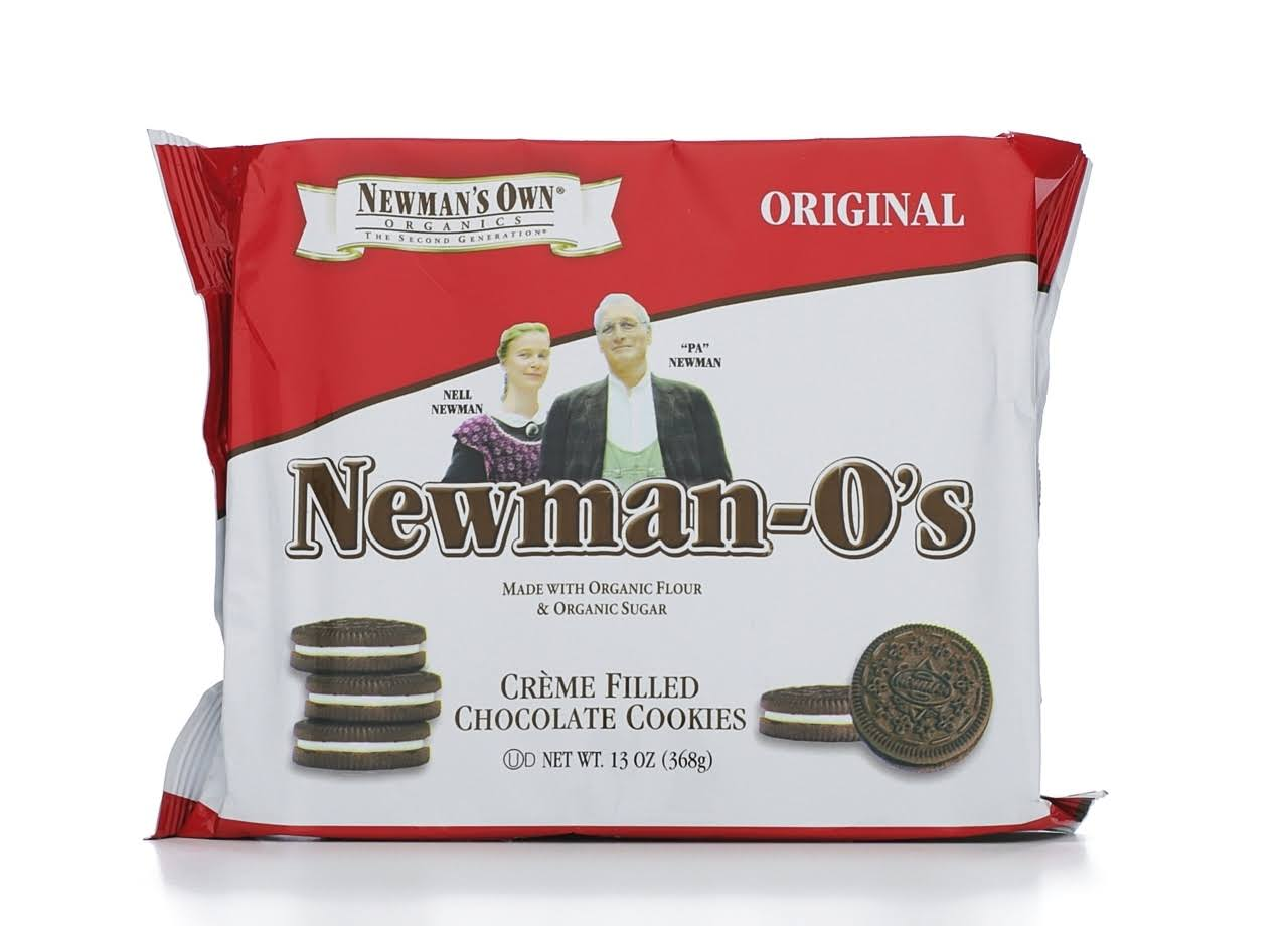 Newman's Own Creme Filled Chocolate Cookies - 368g