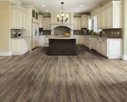 kitchen with grey wood flooring for the homegrey ideas