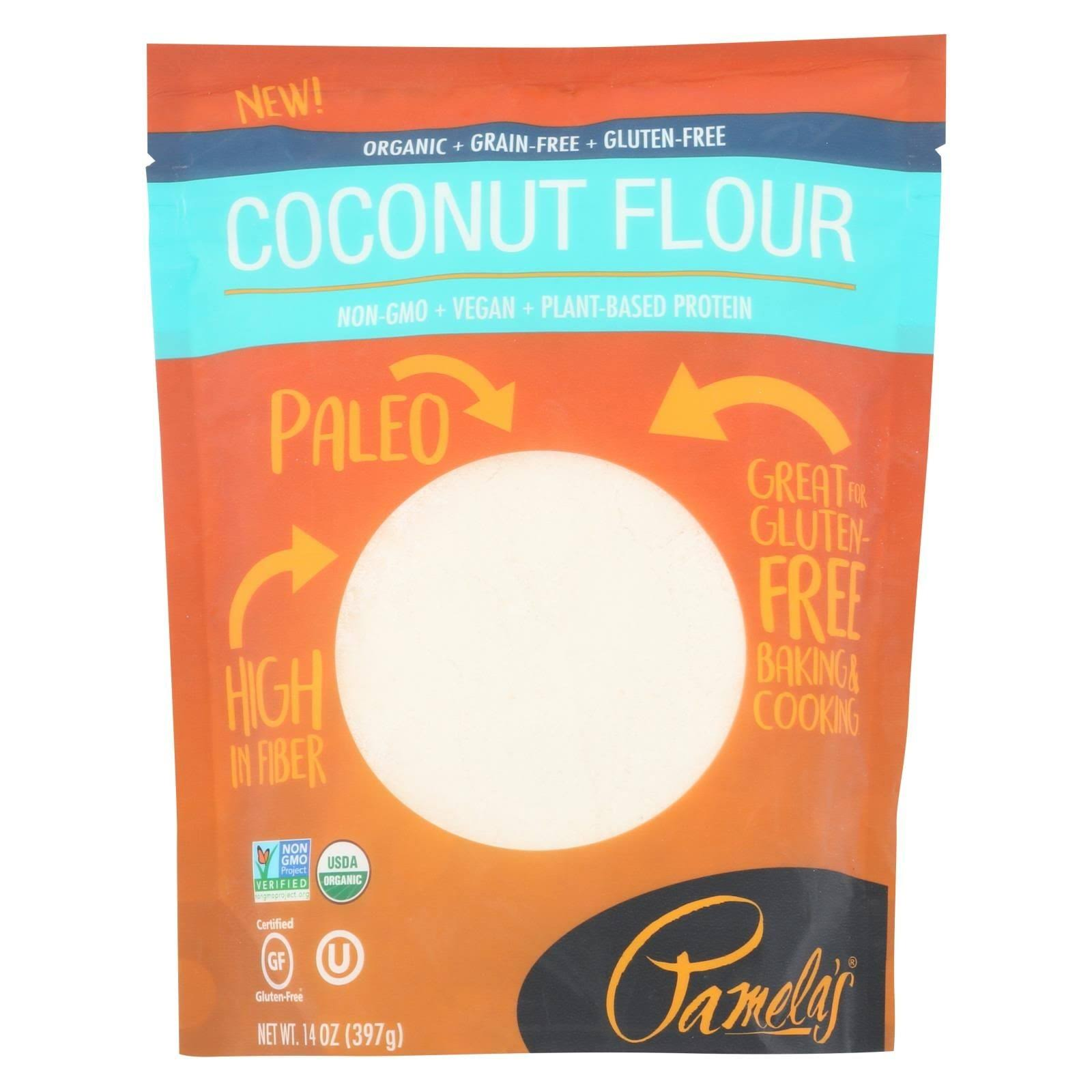 Pamela's Products Paleo Baking Flour Coconut - 14 oz