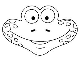 Full Size Of Coloring Pageprintable Frog Mask Craft Page Printable Maska