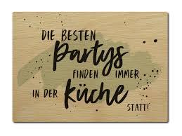 luxecards postkarte aus holz die besten partys finden in der küche st