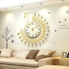 sweet wall clocks for living room kleer flo