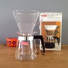 Vintage Melitta 2 4 Cup Drip Coffee Maker Pot With Clear Plastic Filter In Original Box