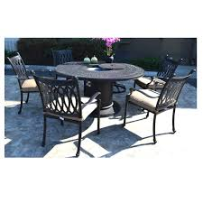 Amazon.com: Propane Fire Pit Table Set Grill Cast Aluminum Patio ... Bella All Weather Wicker Patio Ding Set Seats 6 Maribella White Modern Outdoor Eurway Marquesas 7pc Tortuga Polywood La Casa Cafe Commercial Collections 5piece Wrought Iron Fniture 4 12 Seater Table Kf87 Roccommunity Tommy Bahama Misty Garden French Country Glass Top Metal Roundup Emily Henderson Signature Design By Ashley Marsh Creek 7piece Dublin Ireland Lisbon 220cm 8 Seat Catalina Chairs Temple Webster