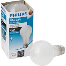 philips silicone coated a21 incandescent service light bulb