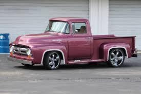 1956 Ford F100 Custom Show Truck Short Bed Stepside Resto-Mod - YouTube