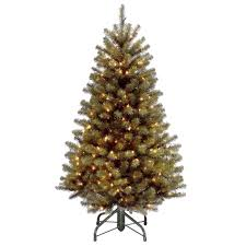 45 Ft North Valley Spruce Artificial Christmas Tree With 200 Clear Lights
