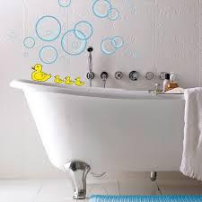 wandtattoo entchen für das badezimmer für kinder selbstklebend