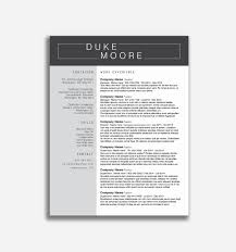 Creative Resume Templates Free Word Awesome Unique Resume Templates ... 50 Best Resume Templates For 2018 Design Graphic Junction Free Creative In Word Format With Microsoft 2007 Unique 15 Downloadable To Use Now Builder 36 Download Craftcv 25 Cv Psd Free Template On Behance Awesome Cool Examples Fun Resume Mplates Free Sarozrabionetassociatscom Inspirational For Mac Of Infographic Venngage