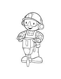 Zonae Coloring Cartoon Characters Bob The Builder 5