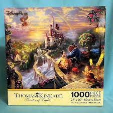 Disney Park Belle Beauty & The Beast Puzzle 1000 pc by Thomas