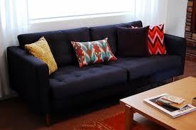 Ikea Karlstad Sofa Bed Slipcover by Custom Karlstad Tufted Slipcover Home Pinterest Sofas