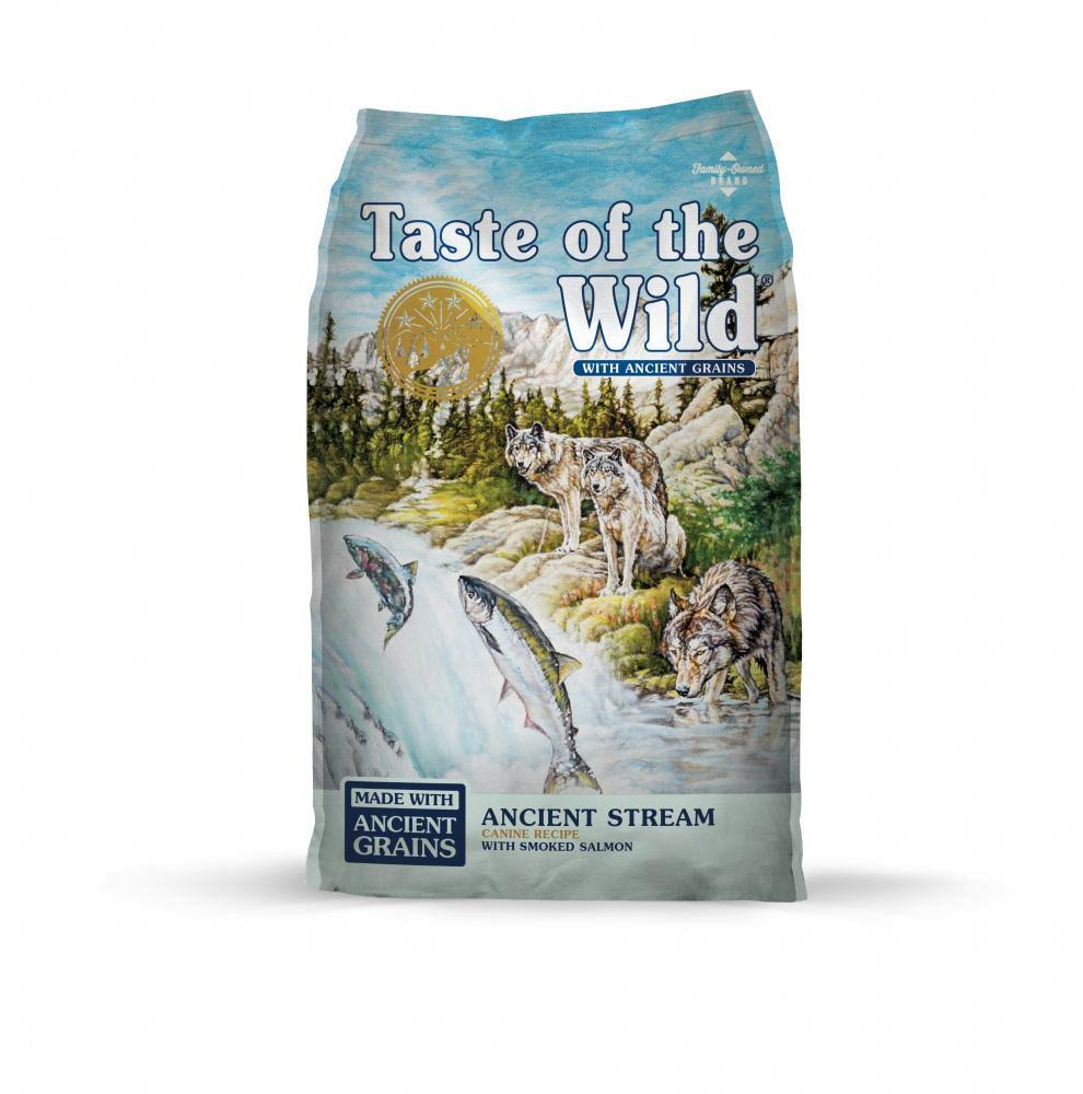 Taste of The Wild Ancient Stream with Ancient Grains Dry Dog Food - 14 lbs.