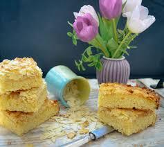 schneller blechkuchen becherkuchen mit mandeln