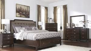 Macys Upholstered Headboards by Acme Ajay Panel Bedroom Set With Upholstered Headboard In Espresso