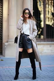 20 super stylish ways to wear knee high boots 2017 fashiontasty com