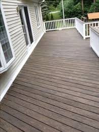Cabot Semi Solid Deck Stain Drying Time by Deck Makeover With Sherwin Williams Flagstone In Solid Stain