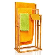 bambuswald handtuchhalter 100 nachhaltig aus bambus handtuchständer mit 3 handtuchstangen freistehend für bad bzw badezimmer kaufen otto