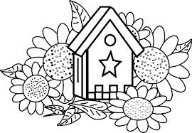 Sunflower Coloring Pages Van Sunflowers Page Plus