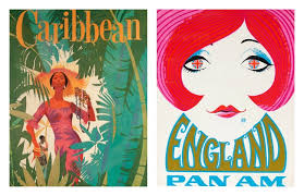 Pan Am Vintage Posters Lola Who Fashion Music Photography Blog