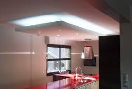 cuisine faux plafond comment installer un faux plafond led dans votre cuisine