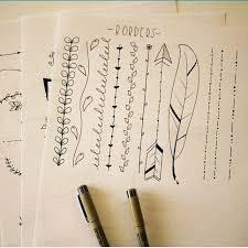 Dividers journaling dividers VerticalDividers