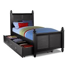 Value City Metal Headboards by Seaside Black Kids Furniture Full Bed With Trundle Value City