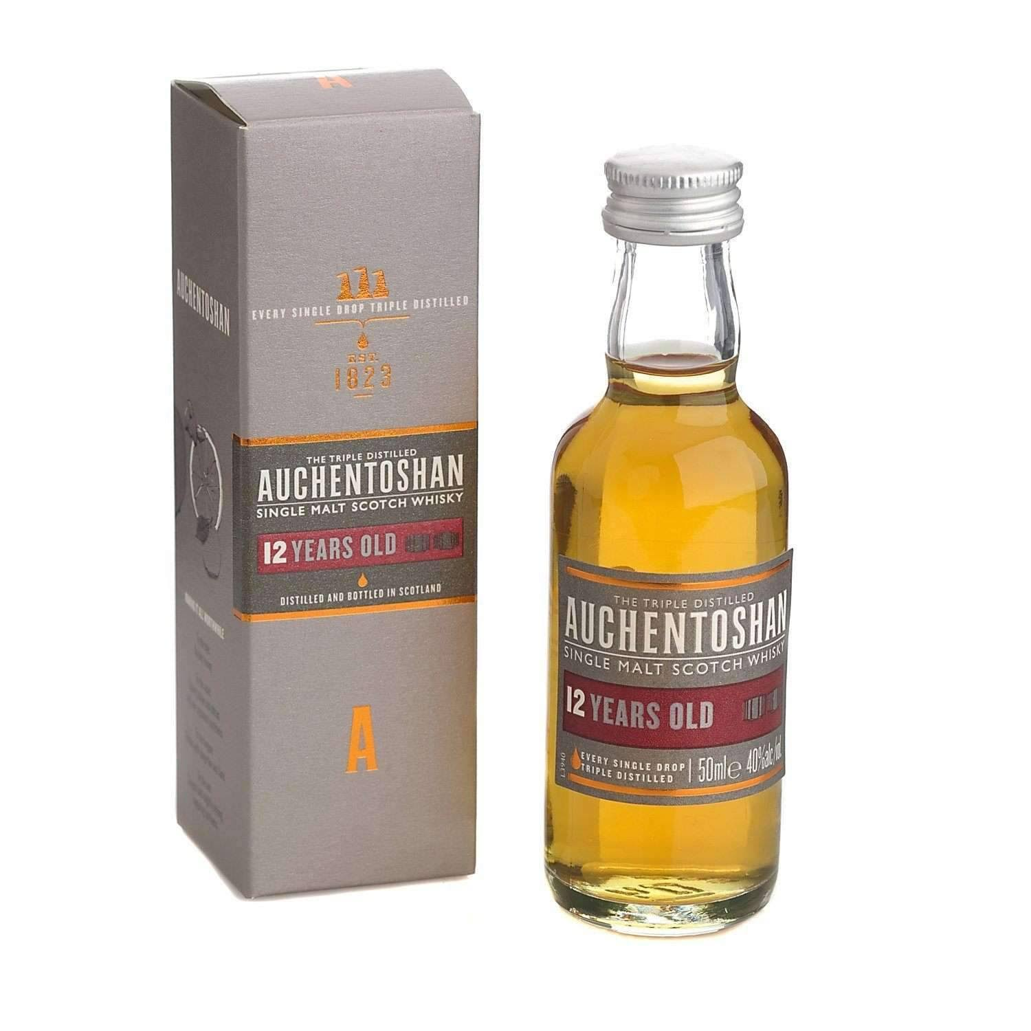 Auchentoshan 12 Years Old Single Malt Scotch Whisky - 500ml