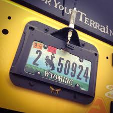100 Tnt Truck Parts JK License Plate Bracket 07Pres Wrangler JK 24 Dr TNT Customs