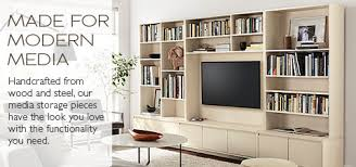 Living Room Table Sets With Storage by Modern Media Storage Modern Living Room Furniture Room U0026 Board