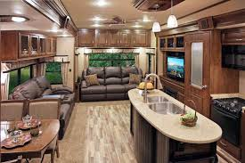 Rv Interior 2017 Toy Hauler For Sale Tour Youtuberhyoutubecom Eagle Luxury Travel Trailers Jayco