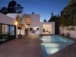 104 Beverly Hills Modern Homes World Of Architecture House Wood Glass And Stone