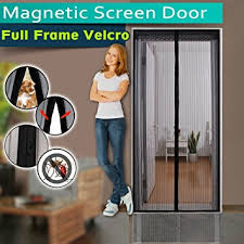 Magnetic Screen Door Full Frame Velcro 3 Sizes Avaliable to Fits