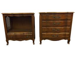 Antique John Widdicomb Dresser by John Widdicomb French Provincial Style Nightstands