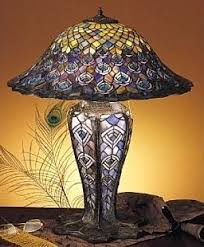 Tiffany Style Lamps Vintage by 158 Best Stain Glass Lamps Images On Pinterest Glass Lamps