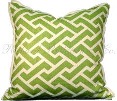 Replacement Sofa Pillow Inserts by Home Decoration Unique Green Geometric Print Throw Pillow