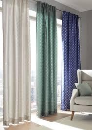 fertigvorhang blau schlaufenvorhang verschiedene farben