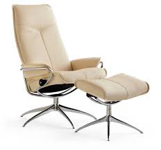 Ekornes Stressless Consul Small Classic Base Chair And Ottoman