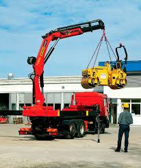 100 Truck Mounted Cranes Mounted Crane Swingarm Hydraulic Handling PK 23500