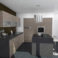 cuisine moderne design avec ilot modele de cuisine en bois cheap exceptional modele placard de